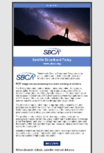 April 2019 Newsletter Featuring Satellite Broadband Today Edition 2