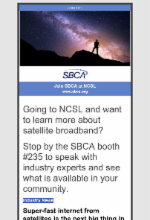 July 2019  Newsletter Featuring Satellite Broadband Today Edition 5