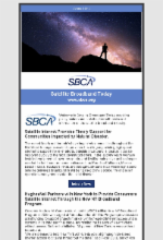 June 2019 Newsletter Featuring Satellite Broadband Today Edition 3