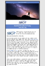 March 2019 Newsletter Featuring Satellite Broadband Today