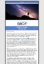 March 2020 Newsletter Featuring Message from SBCA Regarding COVID-19